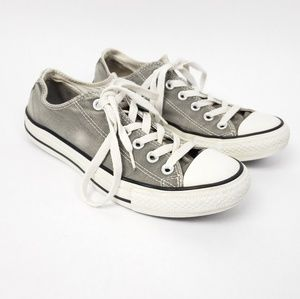 Converse All star grey low top shoes sneakers